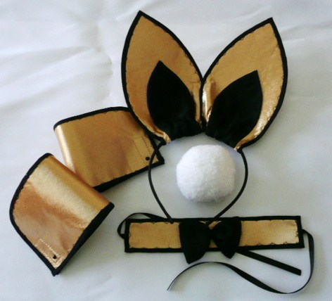 playboy-bunny-set--gold-&amp-black--5-piece-set-