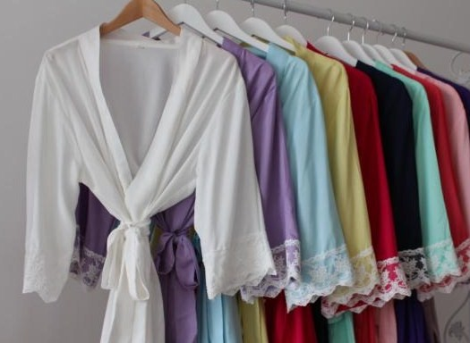 cotton-robe-cotton-&amp-lace-robes--cotton-colour-blocked-robes-
