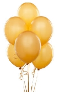 balloons--gold--6-pack-