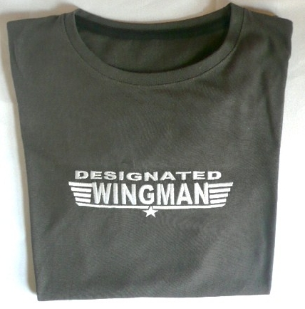&quotdesignated-wingman&quot-t-shirt