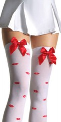 thigh-high--sheer-with-red-lips-&amp-bow-trim-