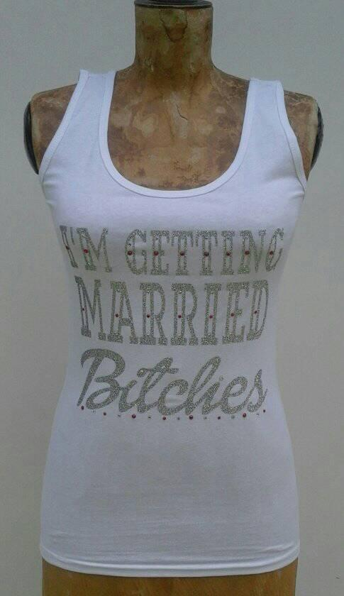 i'm-getting-married-bitches--tank-top-glitter-silver