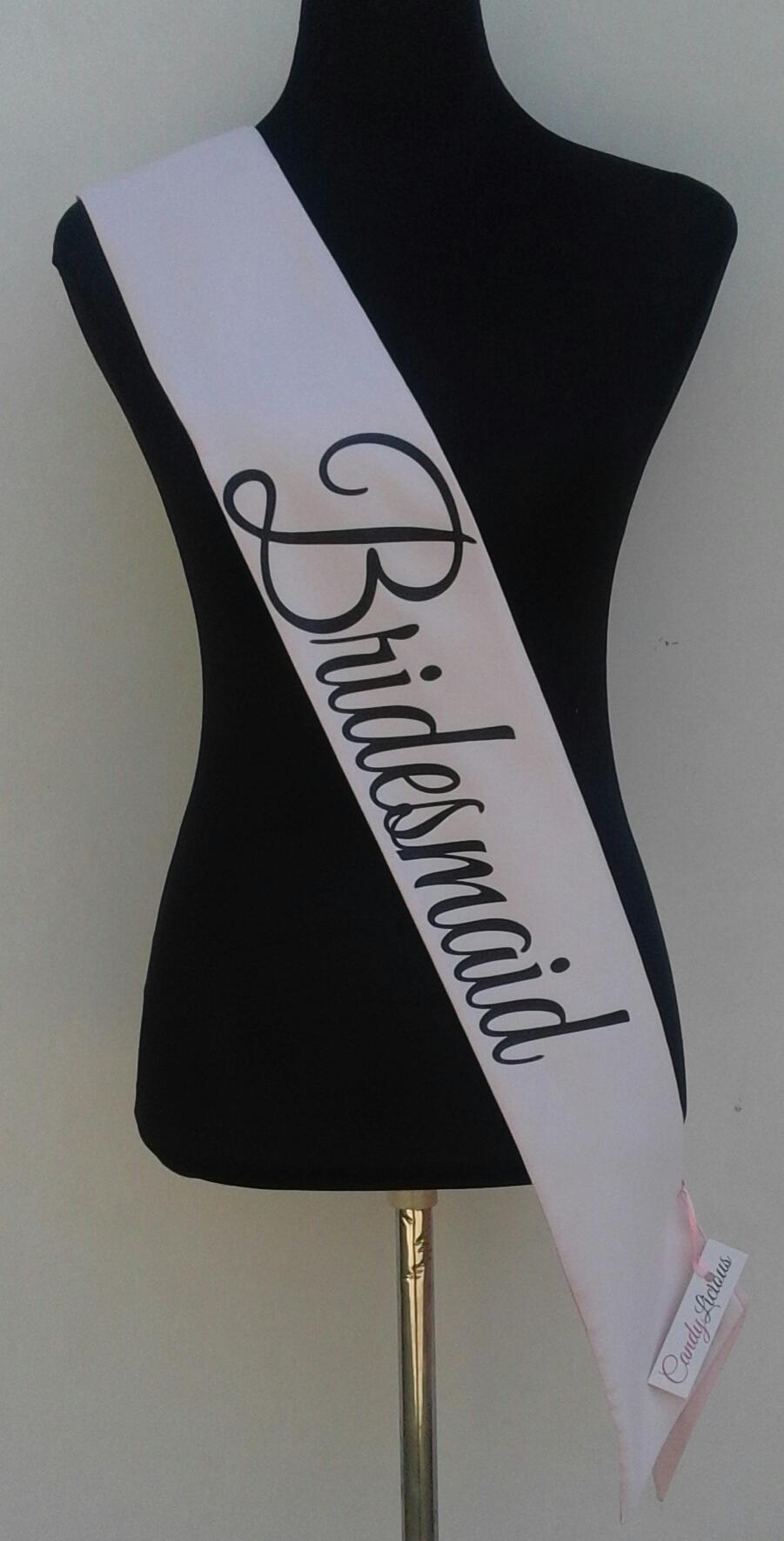 bridesmaid--satin-sash-blush-&amp-black-