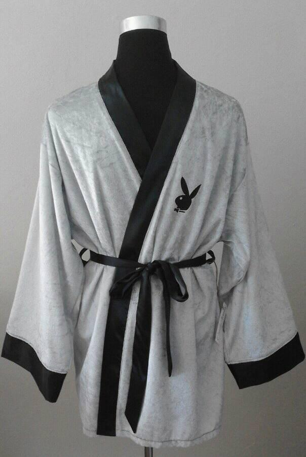 &quotplayboy&quot-unisex-smoking-jacket--silver-
