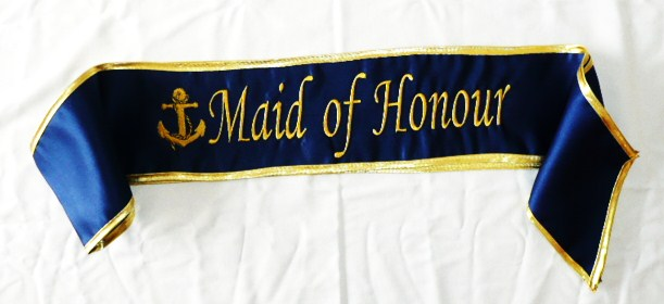 &quotmaid-of-honour-&quot--anchor--satin-sash
