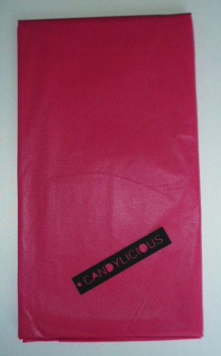 tablecloth--plastic--cerise-pink-