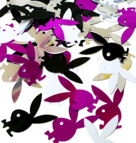 playboy-confetti--table-decor--playboy-bunny-party