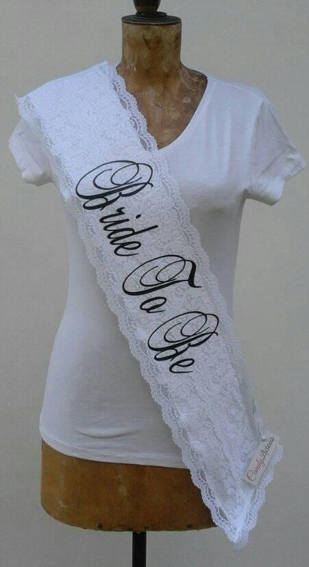 bride-to-be--lace-&amp-satin-sash-white--black